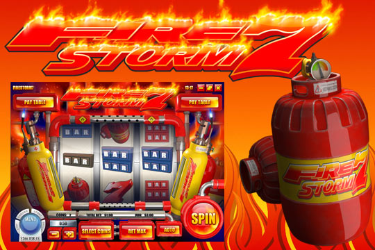 Firestorm 7 3-Reel Slot