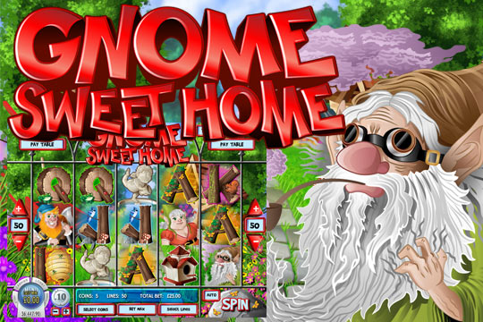 Gnome Sweet Home Slot Machine