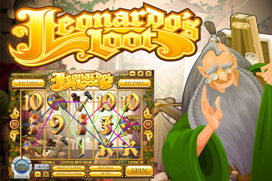 Leonardos Loot Slot Machine
