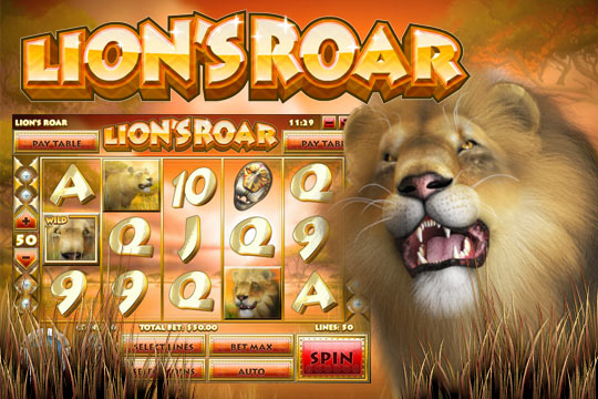 Lions Roar 5-Reel Slot