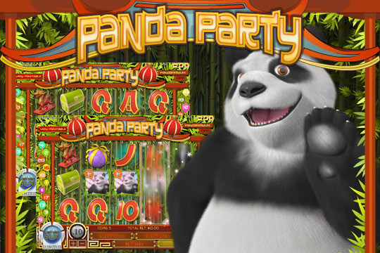 Panda Party 20-Line Video Slot