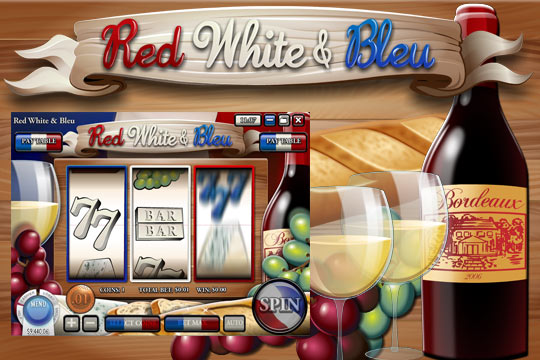 Red White Bleu Slot Machine