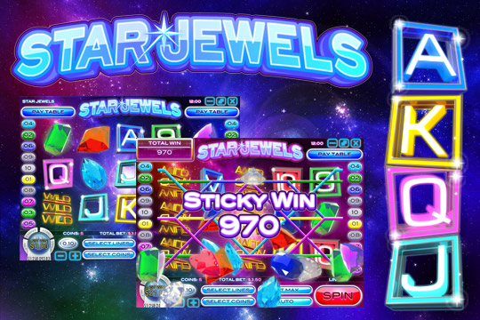 Star Jewels Video Slot