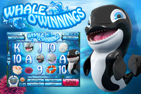 Whale Of Winnings Slot Machine